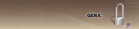 Ha a standard kengyelhosszúság nem elegendő, válassza a Gera 43 lakatot.