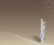 Vészkijárati és pánikajtókban egyaránt használható minősített bevéső zárak keskeny keretes ajtókhoz.