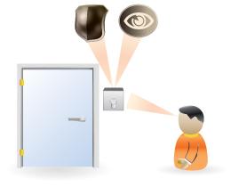 a kiálló kapcsoló az ajtó mellett szembeötlő