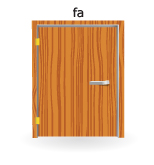 fa ajtók