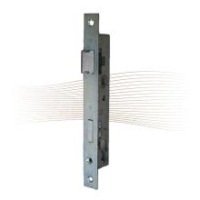 GERA 25 portálzár, szögletes előlappal, 20 mm kulcsközép 244/24