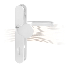 BASI SR 4000, PZ 92/8 mm kilincs-gomb, fehér