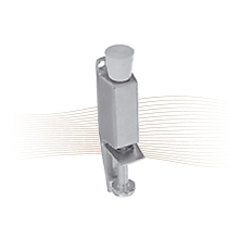 GERA 13 door stopper 180/53, silver