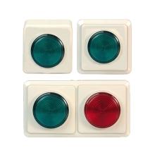 EFFEFF 1050R/G ellenőrző lámpa, piros-zöld, 12V felületi