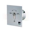 EFFEFF 1140-11 key switch, closing, flush mounting