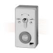 EFFEFF 1145-10 kulcsos kapcsoló Stop gombbal, felületi