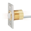 EFFEFF 10405.10 conical contact with cable, 4m, angled face plate
