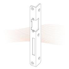 EFFEFF 278 iW3 standard hajlított előlap balos rozsdamentes acél