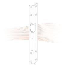 EFFEFF 334 iW standard hajlított előlap balos arany