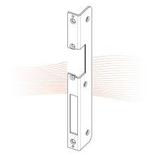 EFFEFF 502 iW standard hajlított előlap balos rozsdamentes acél