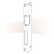 EFFEFF 923 iW standard hajlított előlap balos cink