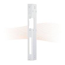 EFFEFF 062 iW standard hajlított előlap balos rozsdamentes acél