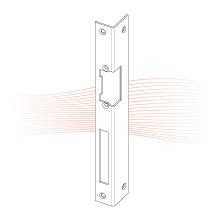 EFFEFF 067 iW standard hajlított előlap balos arany