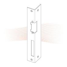 EFFEFF 160 iW standard hajlított előlap balos rozsdamentes acél