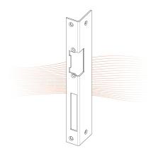 EFFEFF 422 iW standard hajlított előlap balos rozsdamentes acél
