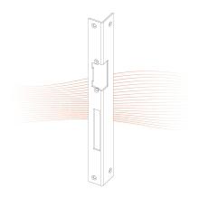 EFFEFF 460 iW standard hajlított előlap balos arany