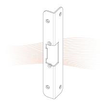 EFFEFF 389 KiW rövid hajlított előlap univerzális rozsdamentes acél