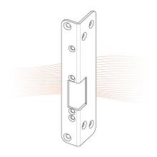 EFFEFF 973 KiW rövid hajlított előlap balos rozsdamentes acél
