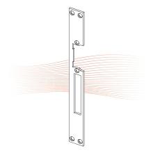 EFFEFF 264 HZ standard lapos előlap univerzális arany