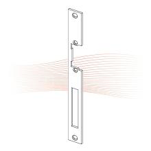 EFFEFF 311 HZ standard lapos előlap univerzális rozsdamentes acél