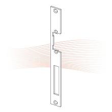 EFFEFF 338 HZ standard lapos előlap univerzális szürke