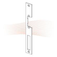EFFEFF 350 HZ standard lapos előlap univerzális rozsdamentes acél