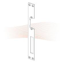 EFFEFF 360 HZ standard lapos előlap univerzális rozsdamentes acél