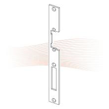 EFFEFF 381 HZ standard lapos előlap univerzális cink
