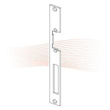EFFEFF 426 HZ standard lapos előlap univerzális cink