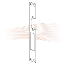 EFFEFF 814 HZ standard lapos előlap univerzális cink