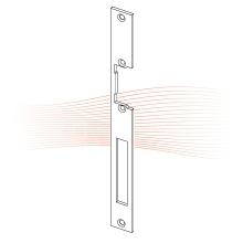 EFFEFF 855 HZ standard lapos előlap univerzális szürke