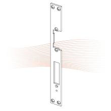 EFFEFF 002 HZ standard lapos előlap univerzális rozsdamentes acél