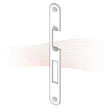 EFFEFF 370 HZ_fix standard lapos előlap balos rozsdamentes acél
