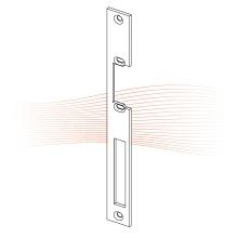 EFFEFF 318 HZ_fix standard lapos előlap balos rozsdamentes acél