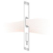 EFFEFF 181 HZ_fix standard lapos előlap balos rozsdamentes acél