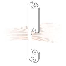 EFFEFF 185 kl rövid lapos előlap balos szürke