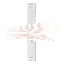 EFFEFF 403 kl rövid lapos előlap univerzális rozsdamentes acél