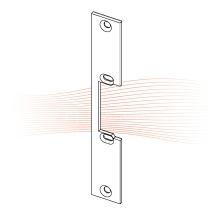 EFFEFF 178 kl_fix rövid lapos előlap univerzális rozsdamentes acél