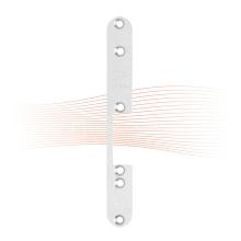 EFFEFF 972 kl rövid lapos előlap balos rozsdamentes acél