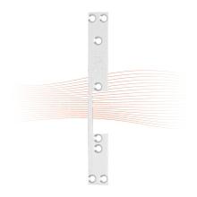 EFFEFF 116 kl rövid lapos előlap balos szürke