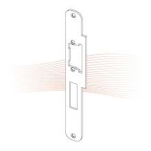 EFFEFF 529 Lap ProFix 1 standard előlap univerzális rozsdamentes acél