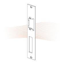 EFFEFF 520 HZF ProFix 1 standard előlap univerzális rozsdamentes acél