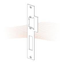 EFFEFF 523 Lap ProFix 1 standard előlap univerzális rozsdamentes acél