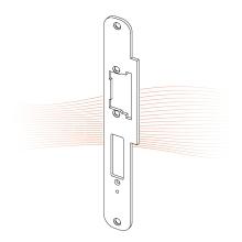 EFFEFF 534 Lap/878 ProFix 1 standard előlap univerzális rozsdamentes acél méretezett rajz