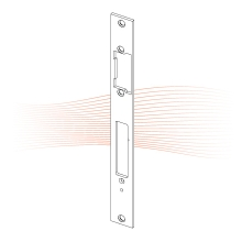 EFFEFF 81A ProFix 2 standard előlap univerzális rozsdamentes acél
