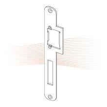 EFFEFF 039 Lap standard lapos nyelvvezetős előlap balos rozsdamentes acél