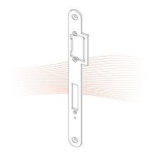 EFFEFF 472 Lap standard lapos nyelvvezetős előlap balos rozsdamentes acél