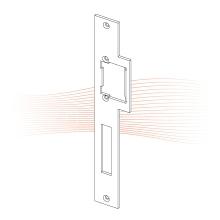 EFFEFF 405 HZF standard lapos nyelvvezetős előlap balos cink