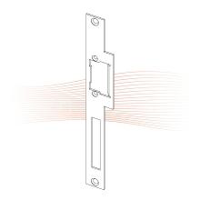 EFFEFF 425 Lap standard lapos nyelvvezetős előlap balos rozsdamentes acél