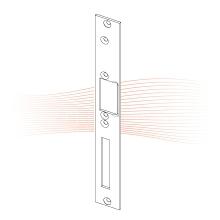 EFFEFF 031 HZF standard lapos nyelvvezetős előlap balos rozsdamentes acél